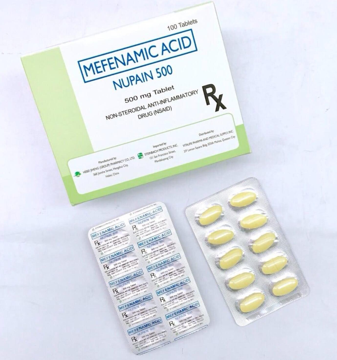 Mefenamic 500mg Tablet x 1's