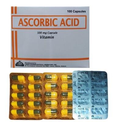 Sodium Ascorbate 562.4mg = 500mg Ascorbic Acid Vitamin C Capsule x 1's