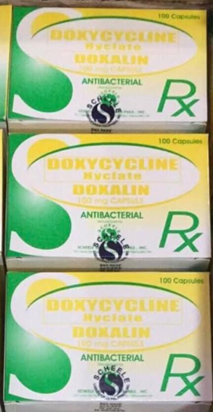 Doxycycline 100mg Tablet x 1's