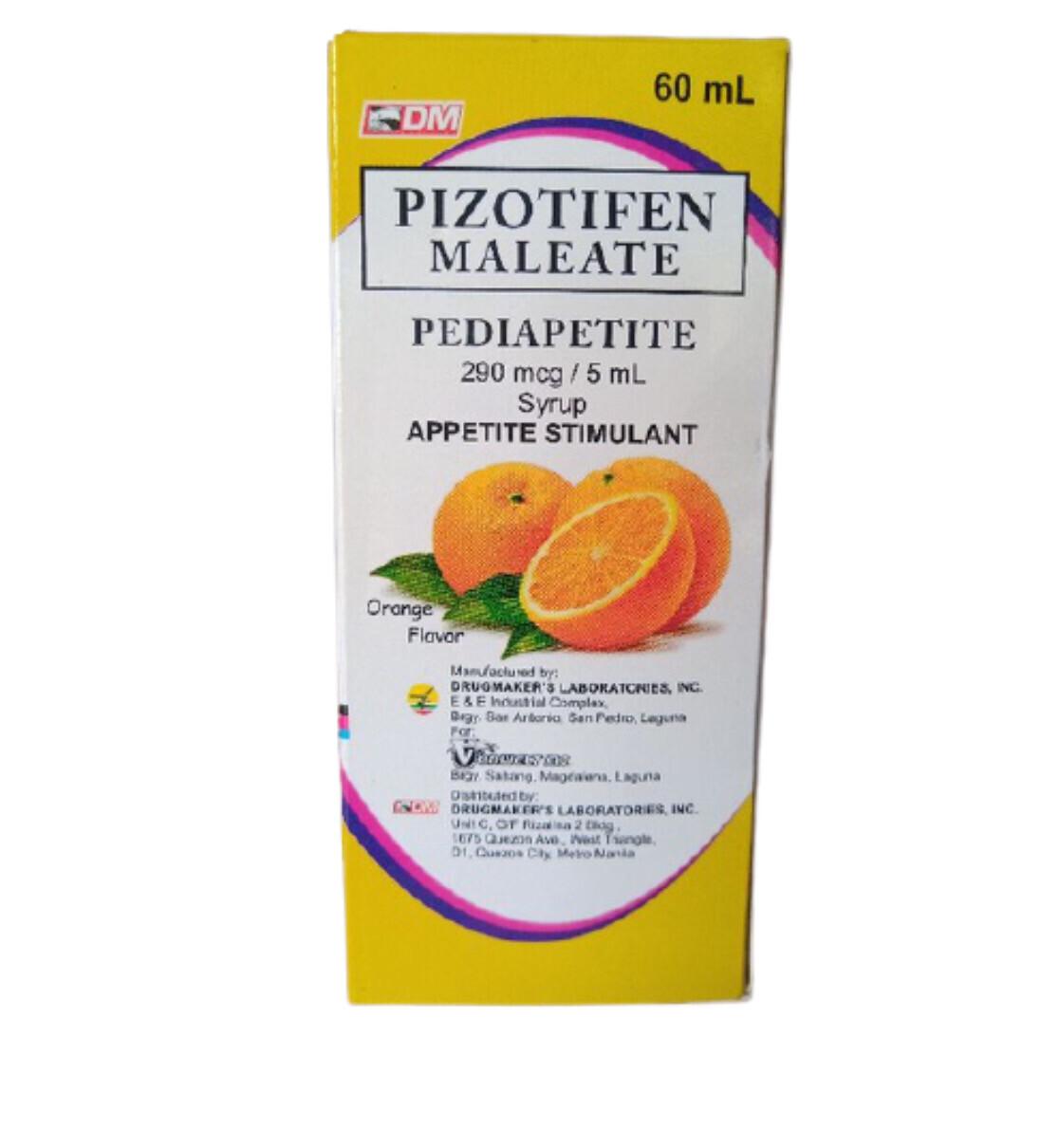 Pizotifen 290 mcg./5ml Syrup 60ml x 1's