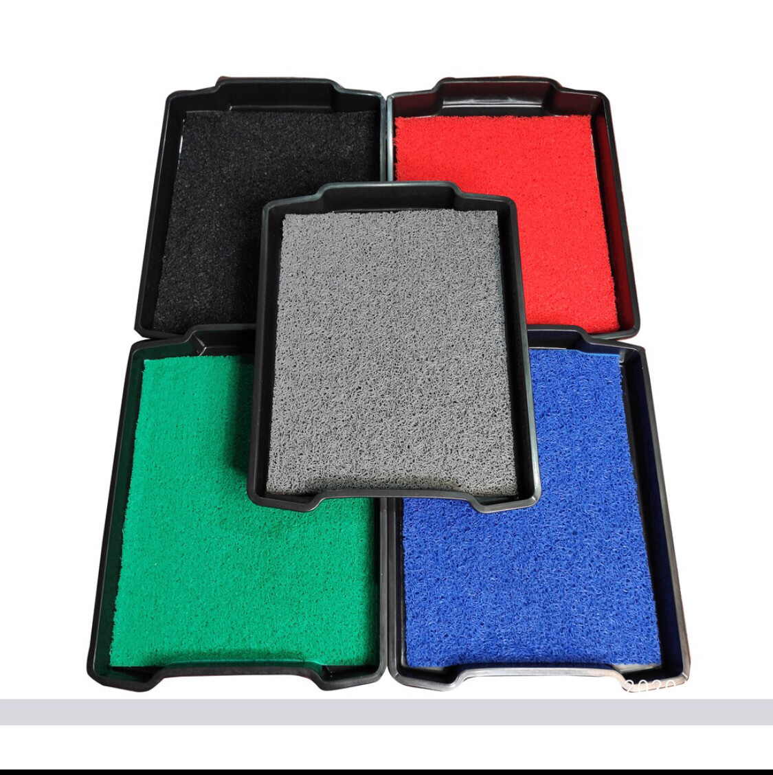 Foot Bath Disinfectant Tray with Coil Mat x 1