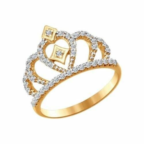 Кольцо (016628) (Au 585)