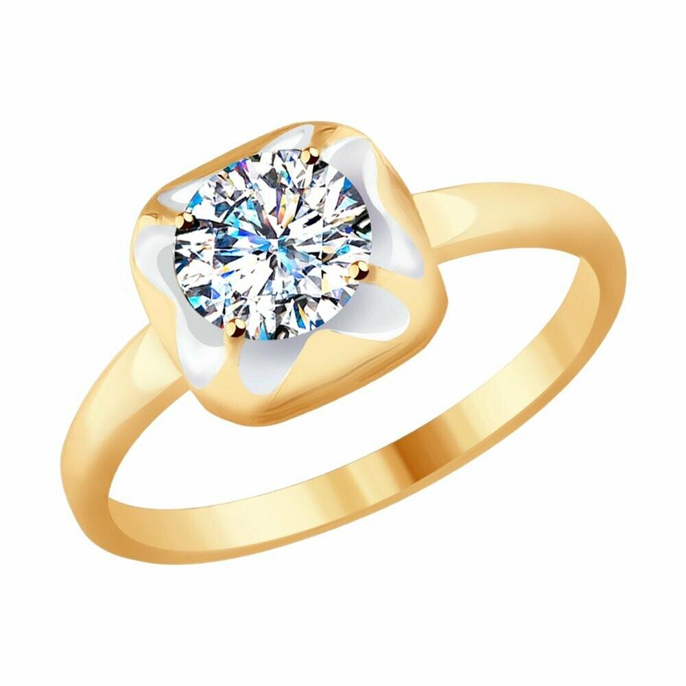 Кольцо (017624) (Au 585)