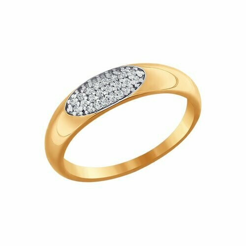 Кольцо (016591) (Au 585)