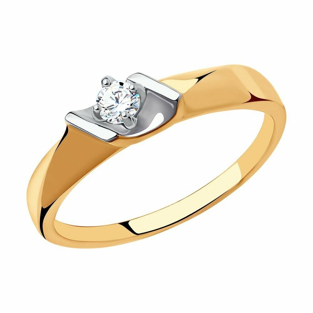 Кольцо (018544) (Au 585)