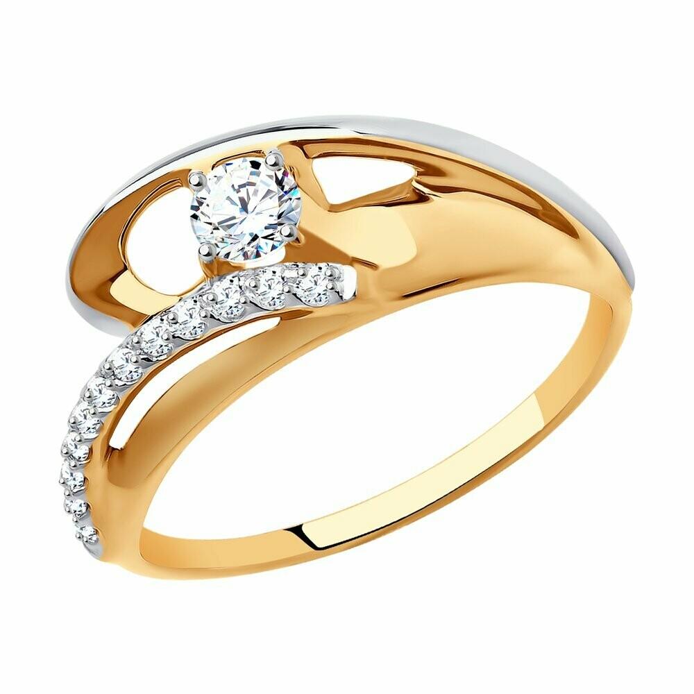 Кольцо (018584) (Au 585)