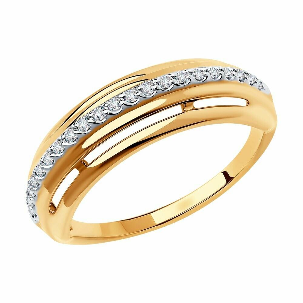 Кольцо (018589) (Au 585)