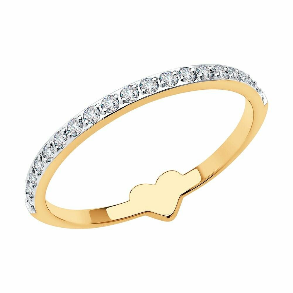 Кольцо (018545) (Au 585)