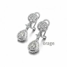 Boucles d'oreilles Orage AM095