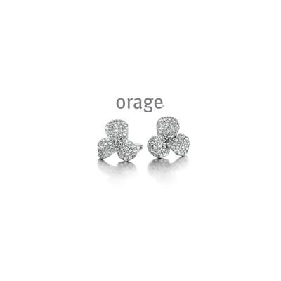 Boucles d'oreilles Orage AP096