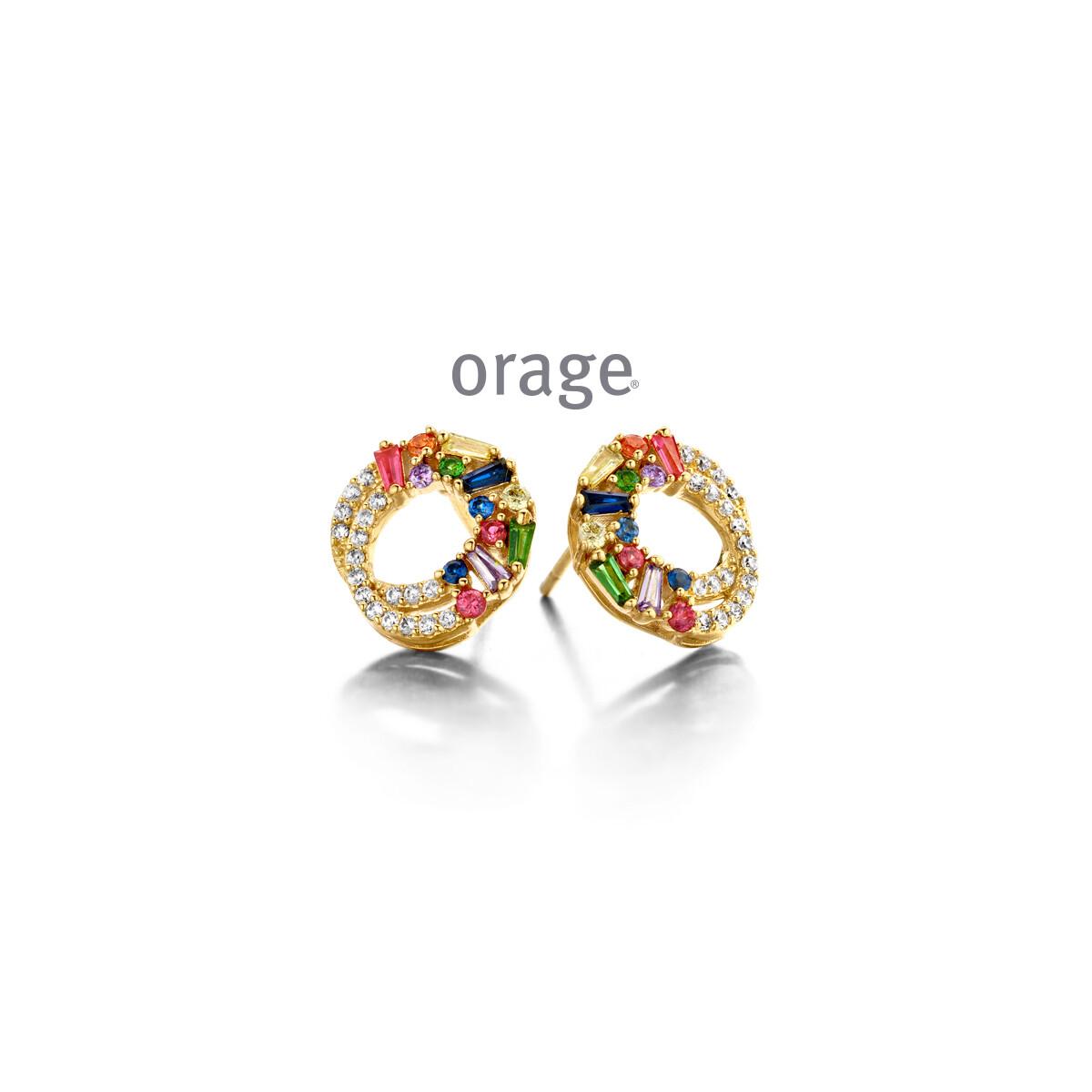 Boucles d'oreilles Orage AR040