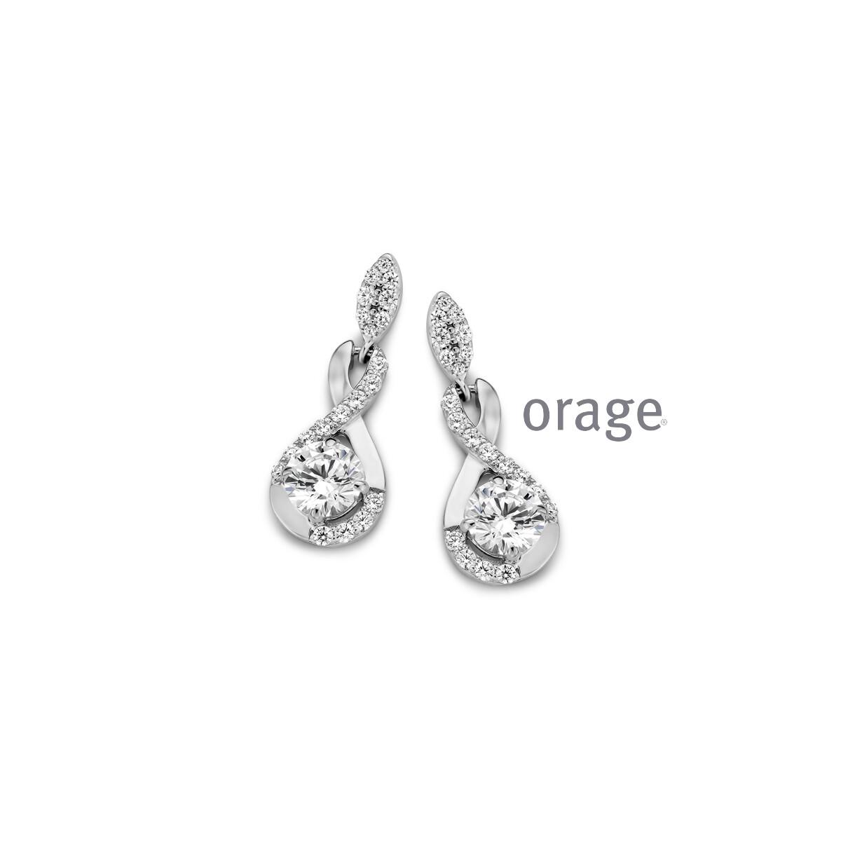 Boucles d'oreilles Orage AR027