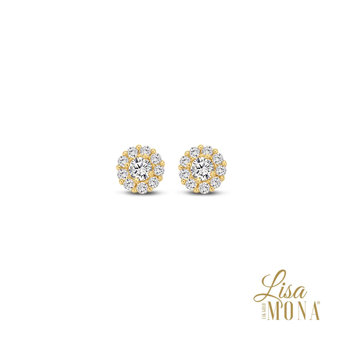 Boucles d'oreilles Lisa Mona LM/G0083