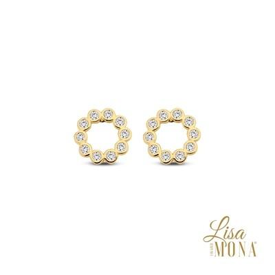 Boucles d'oreilles Lisa Mona LM/G0094