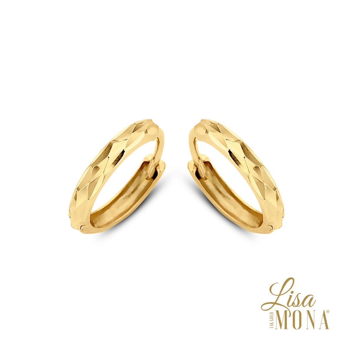 Boucles d'oreilles Lisa Mona LM/G0051