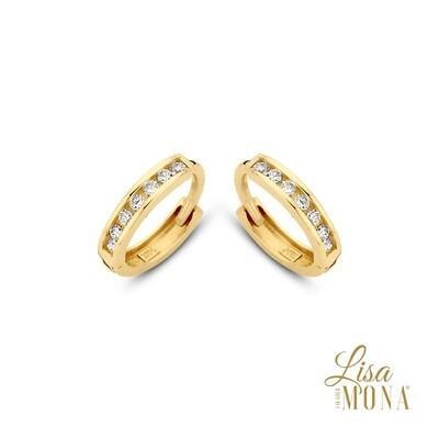 Boucles d'oreilles Lisa Mona LM/G0053