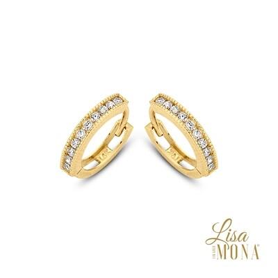 Boucles d'oreilles Lisa Mona LM/G0052