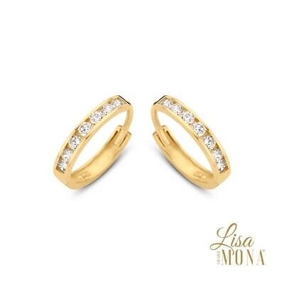 Boucles d'oreilles Lisa Mona LM/G0056