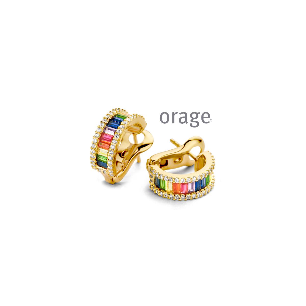 Boucles d'oreilles Orage AR048