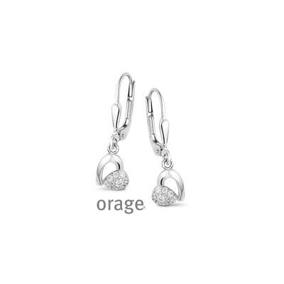 Boucles d'oreilles Orage V1420