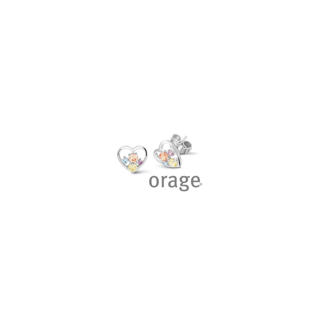Boucles d'oreilles Orage V1408
