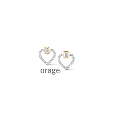 Boucles d'oreilles Orage V1404