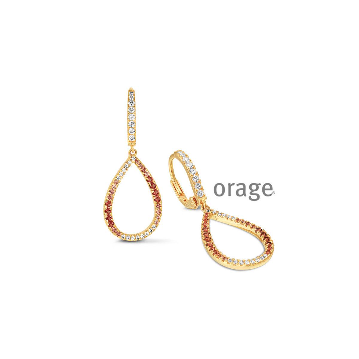 Boucles d'oreilles Orage V1445