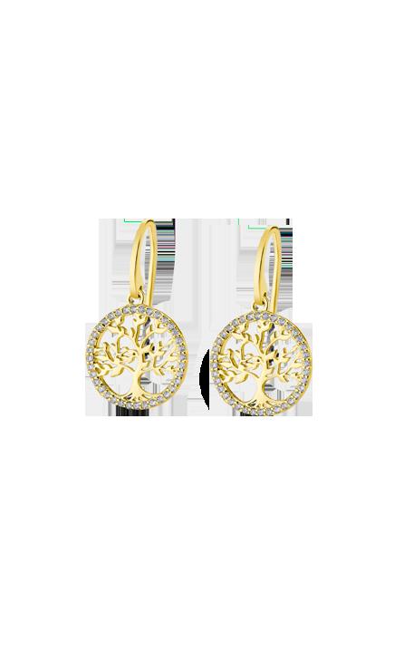 Boucles d'oreilles Lotus Silver LP1746/4/2