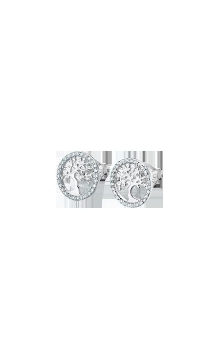 Boucles d'oreilles Lotus Silver LP1778/4/1