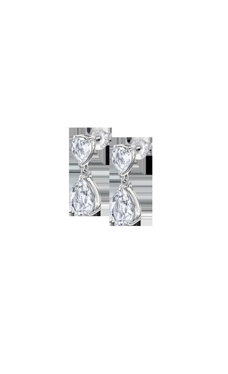 Boucles d'oreilles Lotus Silver LP2014/4/1