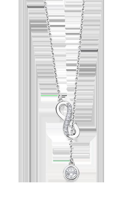 Collier Lotus Silver LP3315/1/1