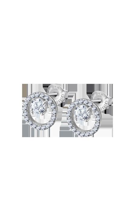 Boucles d'oreilles Lotus Silver LP3080/4/1