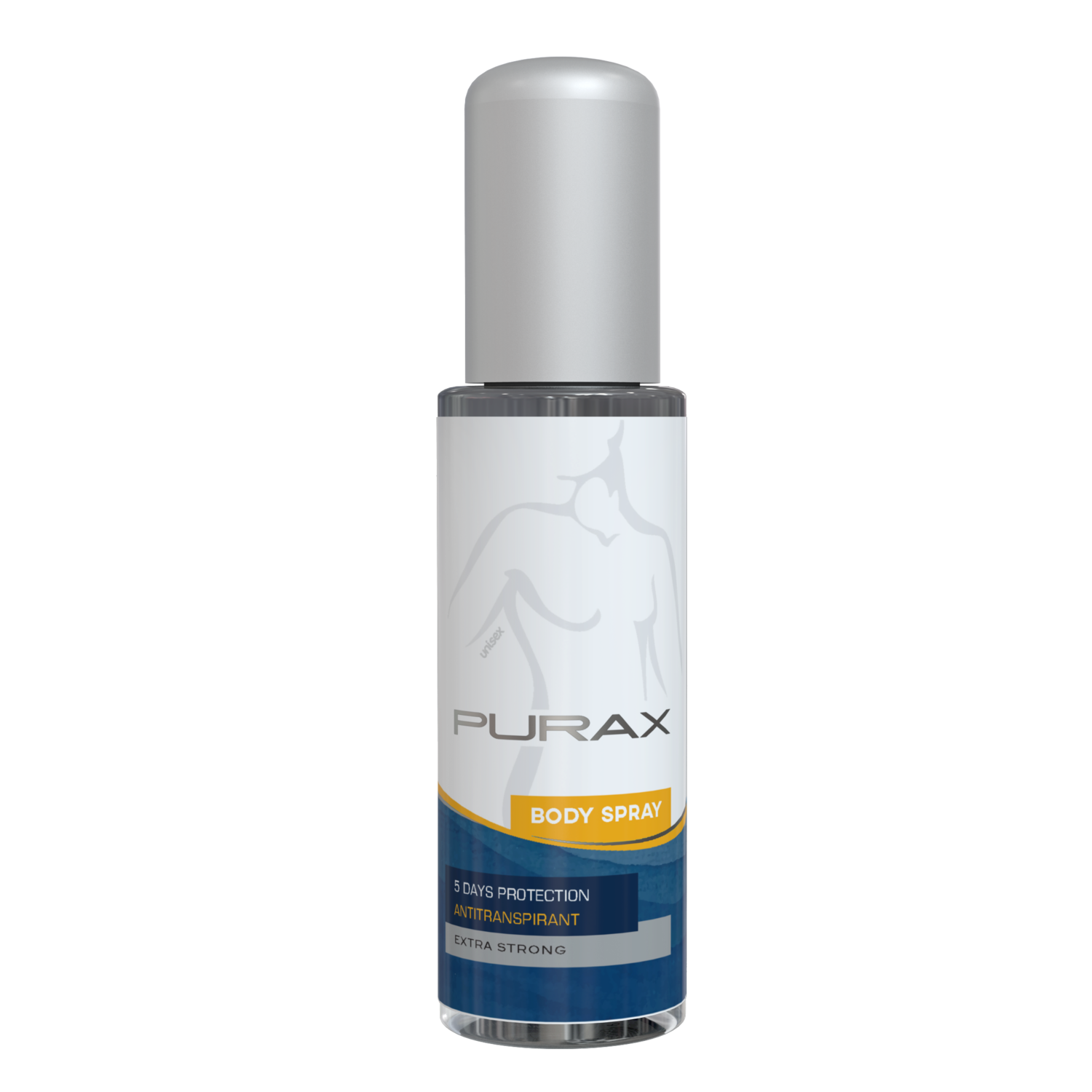 PURAX Antiperspirant Body Spray - extra strong 50ml