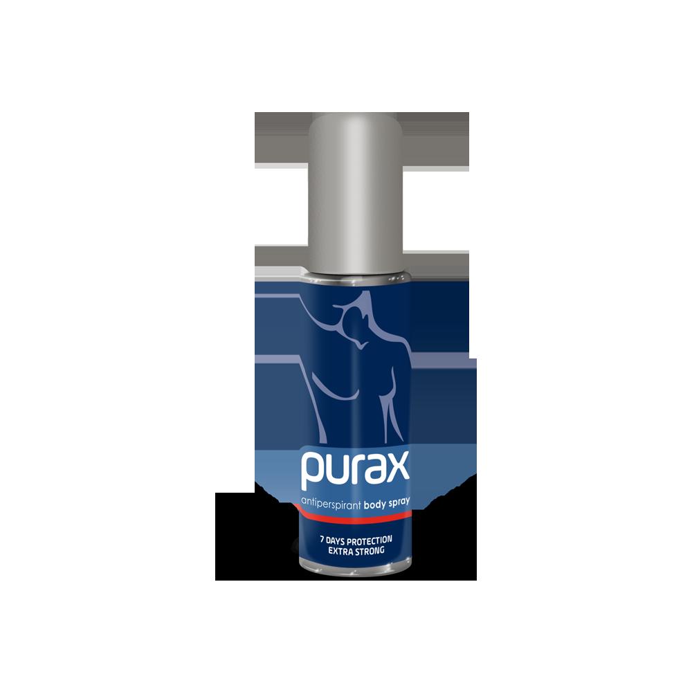 PURAX Antiperspirant Body Spray - extra strong 50ml