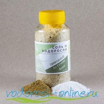 Соль и водоросли, 250 гр.