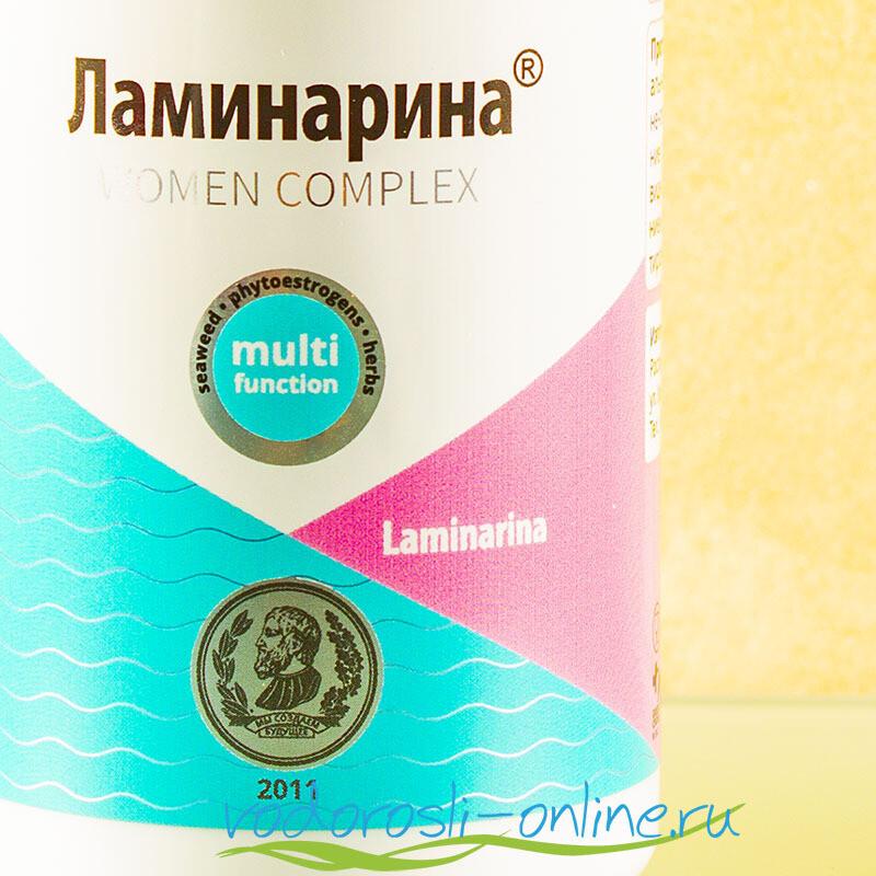 Ламинарина, женский комплекс, 60 капсул по 0,5 гр.