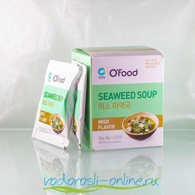 Суп быстрого приготовления со вкусом мисо