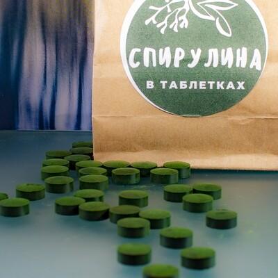 Спирулина в таблетках, 100 гр.