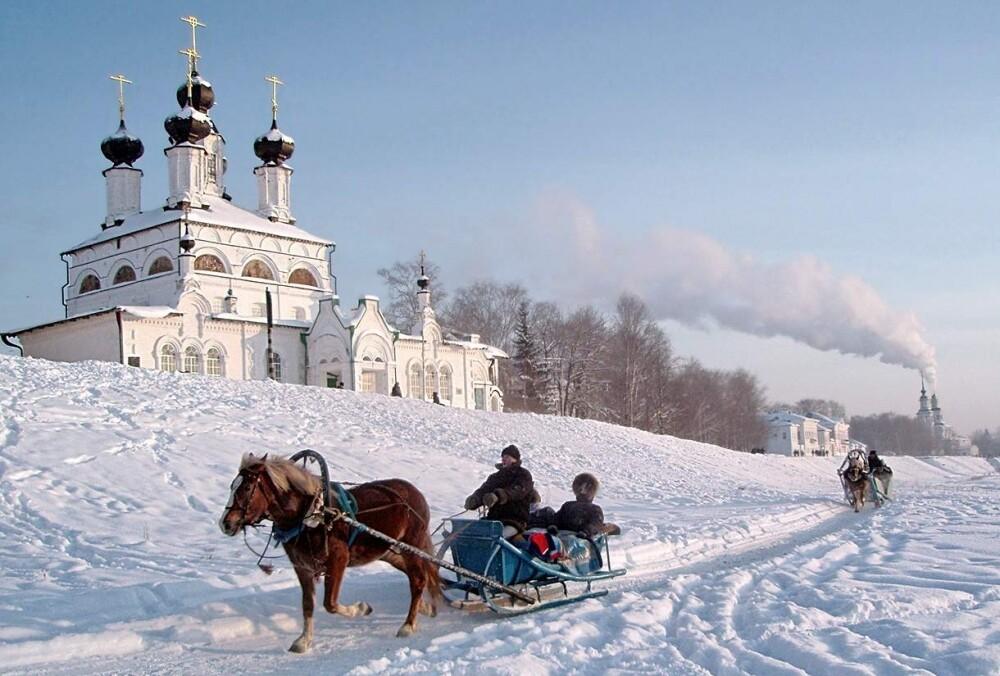 Каргополь - Великий Устюг - Сольвычегодск, 4 дня