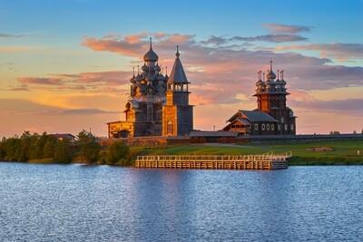 Каргополь - Кижи - Рускеала - Валаам - Кивач - Соловки, 10 дней
