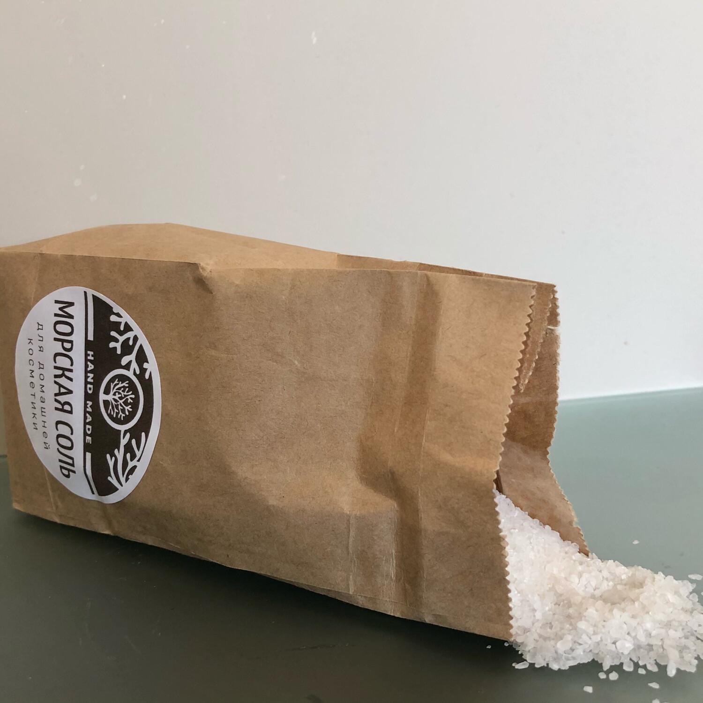 Морская соль для домашней косметики 0,5 кг.