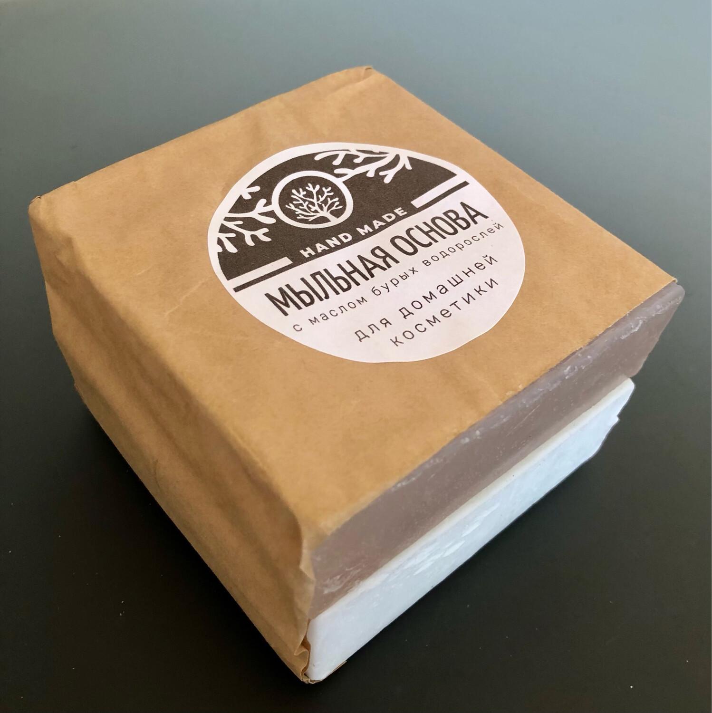 Мыльная основа с маслом бурых водорослей, 0,5 кг.