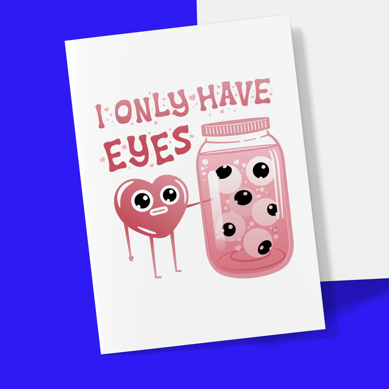 I only have eyes for you–GoGo Tani Valentine Card