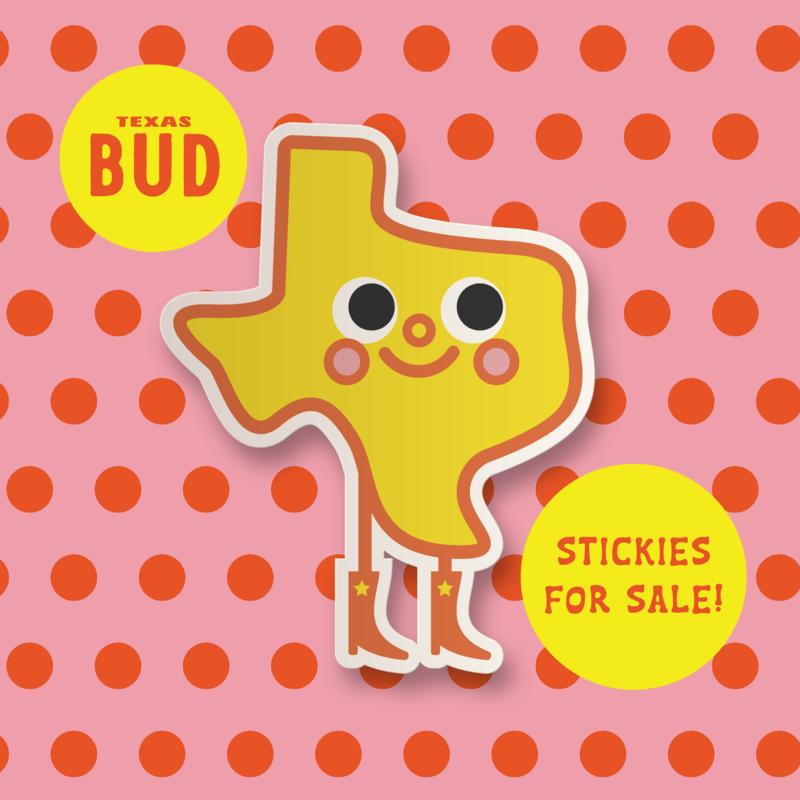 GoGo Tani BIG Texas Bud Stickie