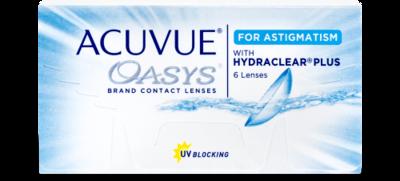ACUVUE® OASYS®  ASTIGMATISM   6pk