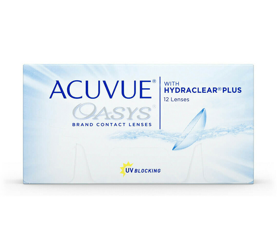 ACUVUE® OASYS® with HYDRACLEAR® PLUS | 12pk