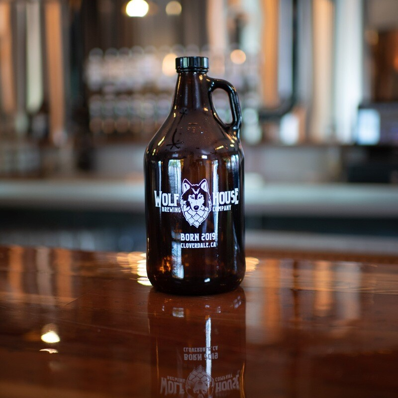 WOLF HOUSE GROWLER