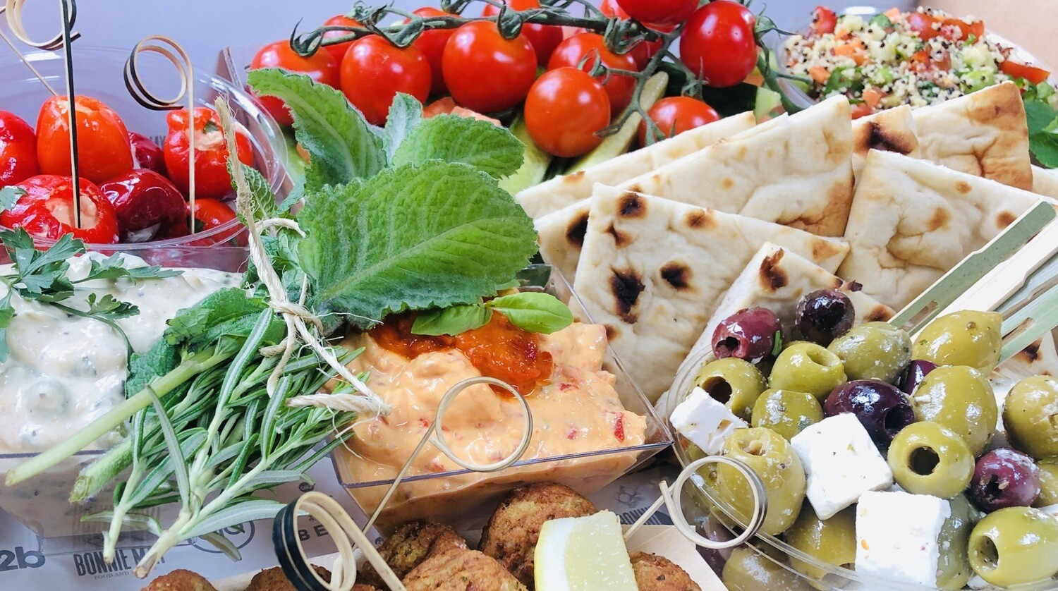Greek Mezze Board (for 6 or 10)