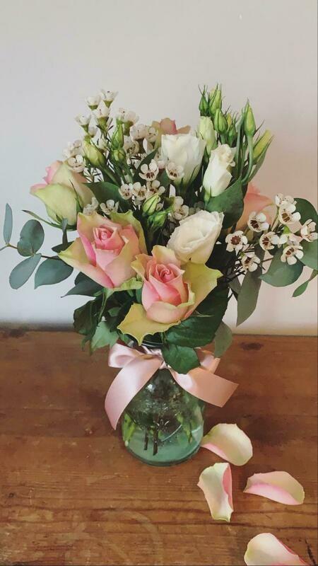 Jar Posy Flowers