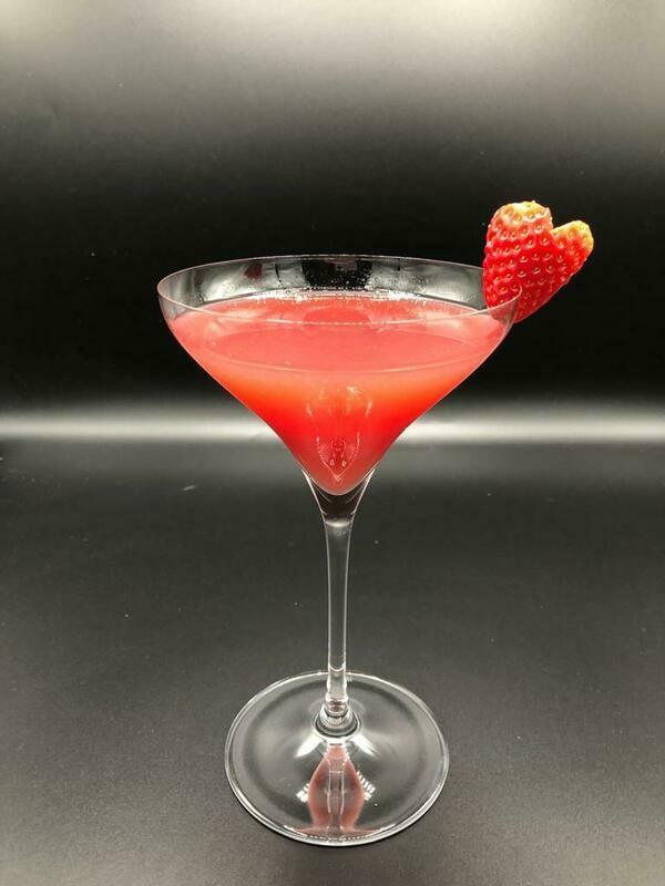 Package #6 - 8 Cocktails, Jar Flowers & Choc Strawberries